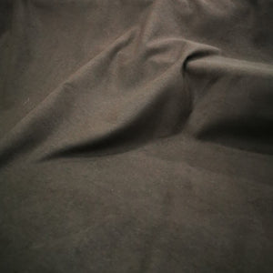 Lightweight 100% Cotton Moleskin, Brown - 1/4 metre