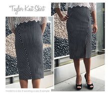 Load image into Gallery viewer, Style Arc Taylor Knit Skirt - sizes 18 to 30