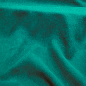 100% Linen Antique Wash, Emerald - 1/4metre