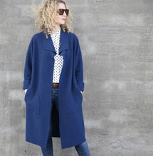 Load image into Gallery viewer, Tessuti Patterns Brooklyn Coat. Available in store or online.