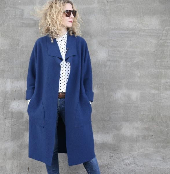 Tessuti Patterns Brooklyn Coat. Available in store or online.