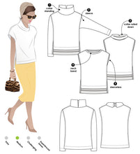 Load image into Gallery viewer, Style Arc Esme Designer Knit Top - sizes 4 to 16