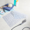 clear non slip bath mat with suction cups