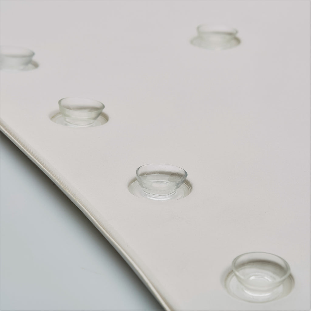 non slip bath mat with suction cups