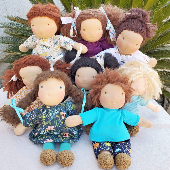 Waldorf Style Baby Dolls