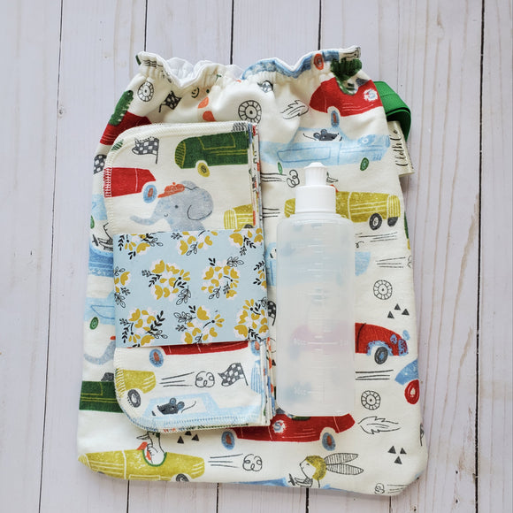 Paper-less Cloth TP Kits - Family Cloth - Cloth Wipes