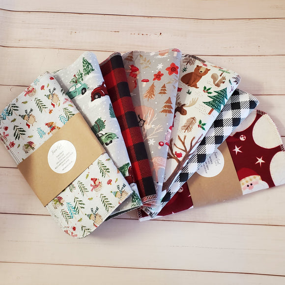 Holiday Cloth Napkin Set of 4 10