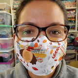 Origami Style Cloth Face Mask