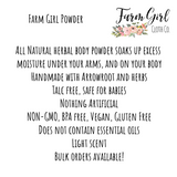 Farm Girl herbal body + baby powder