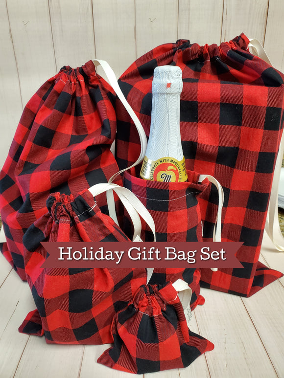 Cloth Gift Bag Set