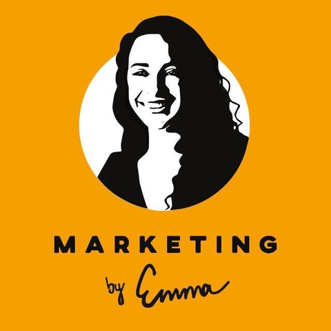 Marketing by Emma and Emmazon Ecommere Copywriting Logo