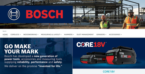 Bosch Amazon Brand Store Benefit of Brand Registry and Amazon Listing Optimization