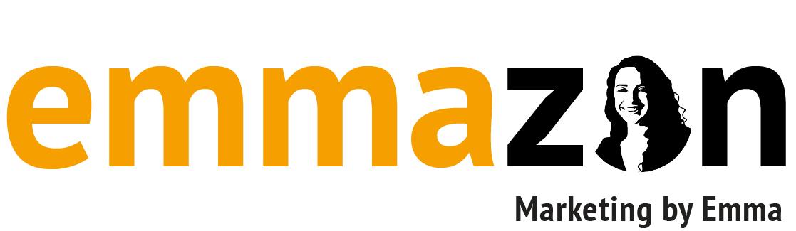 Emmazon Amazon Listing Optimization by Marketing by Emma Logo