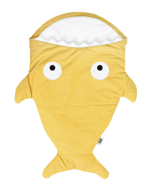 Yellow shark footmuff for babies - Constellations