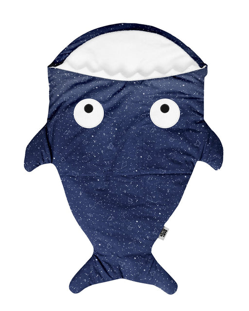 Blue shark footmuff for babies - Constellations