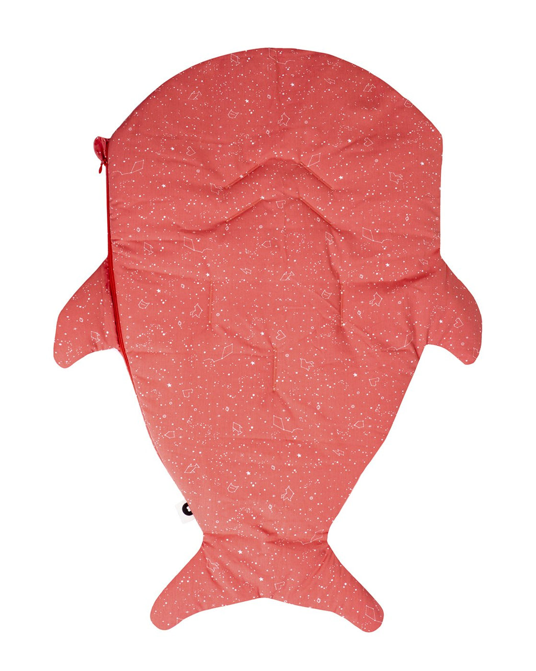 Coral shark footmuff for babies - Constellations Winter