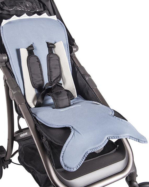 Slate Blue fish tail pushchair mat