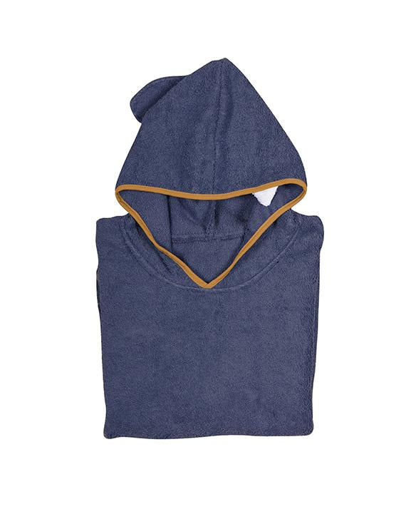 Navy Blue Bath Cape