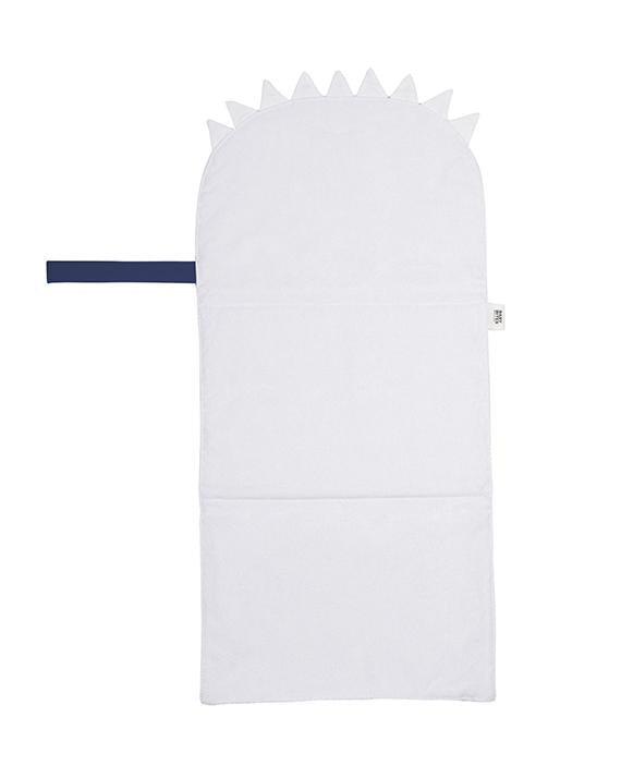 Blue navy travel changing mat