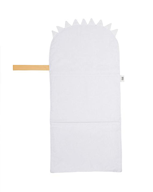Mustard waterproof travel changing mat