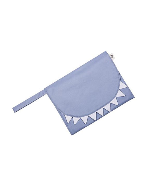 Slatte Blue waterproof travel changing mat