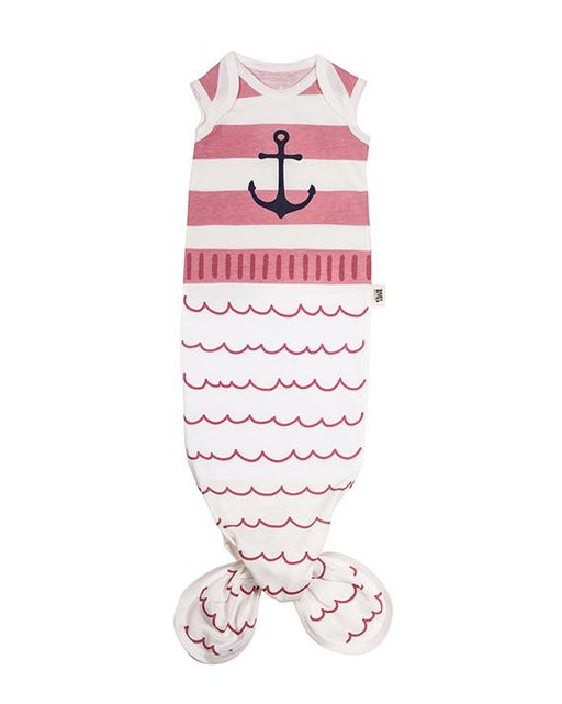 Pink stripes Baby Gown