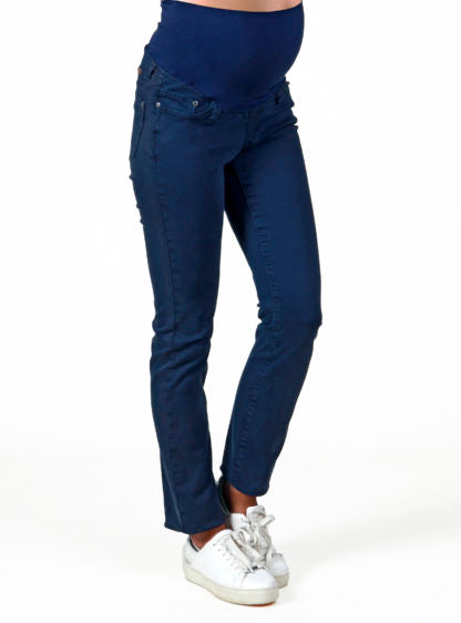 Twill Trouser In Navy Color