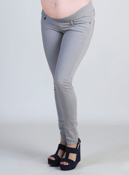 Maternity Low Belly Twill Trouser