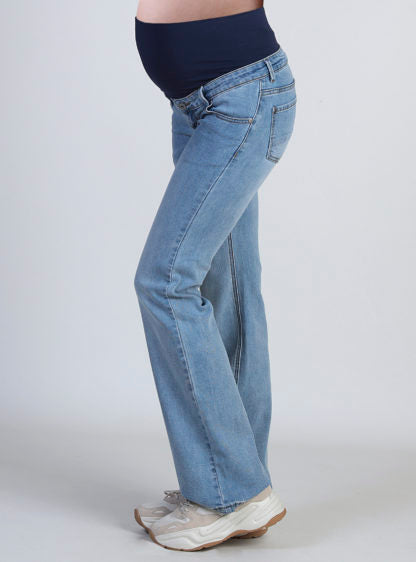 Flared Jeans With High Belly