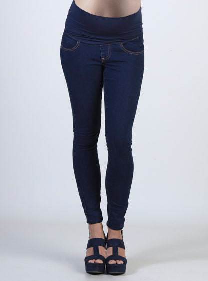 Maternity Jeans Jegging With High Belly