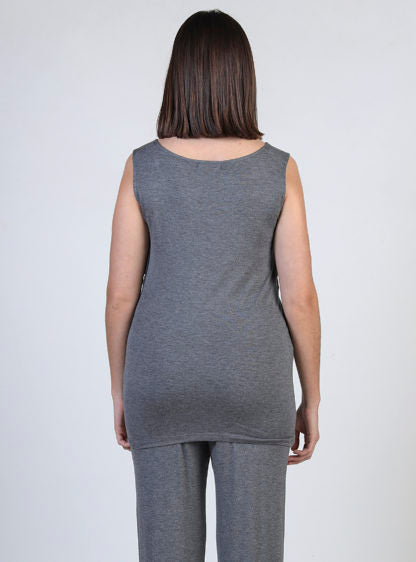 Basic Nursing Crossed T-Shirt In Grey