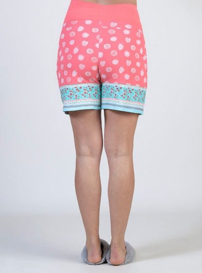 Maternity Printed Short Pyjama Trouser