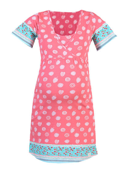 Nursing Printed Nightdress