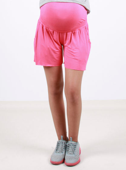 Coral Knitted Short
