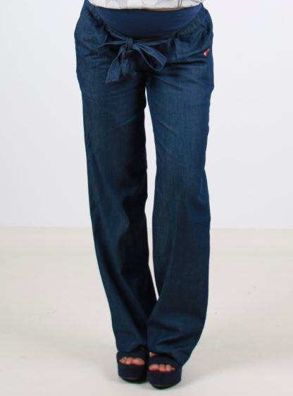Wide Leg Thin Jeans