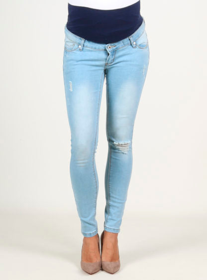 Slim Jeans Trouser With Broken Wash