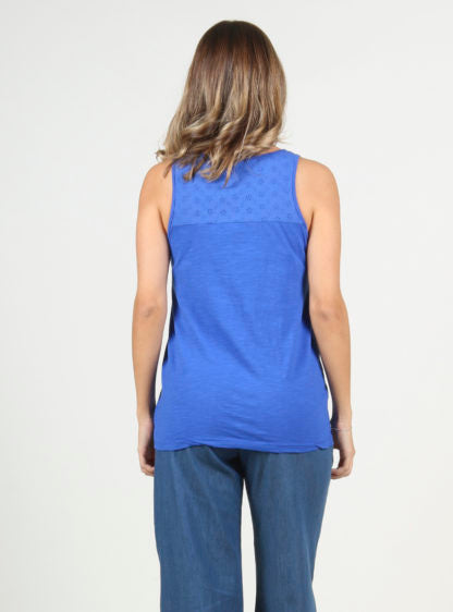 Basic Nursing Blue Tank Top