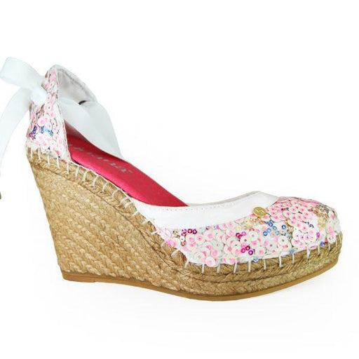 Sun Rays High Wedges