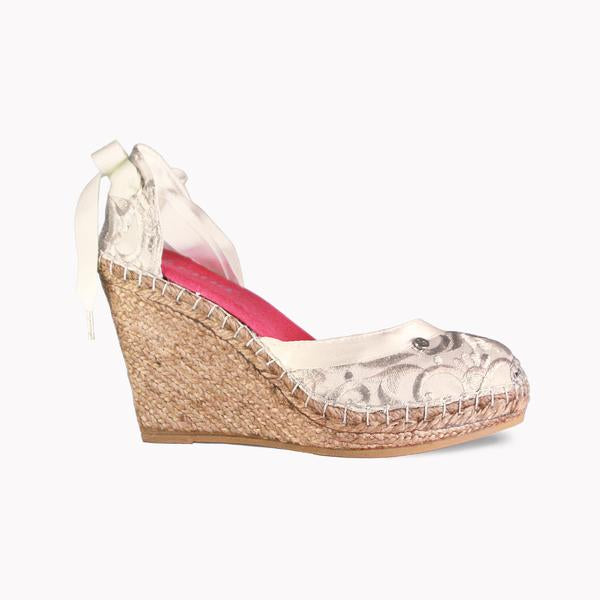 High Wedge Barroc Spadrilles