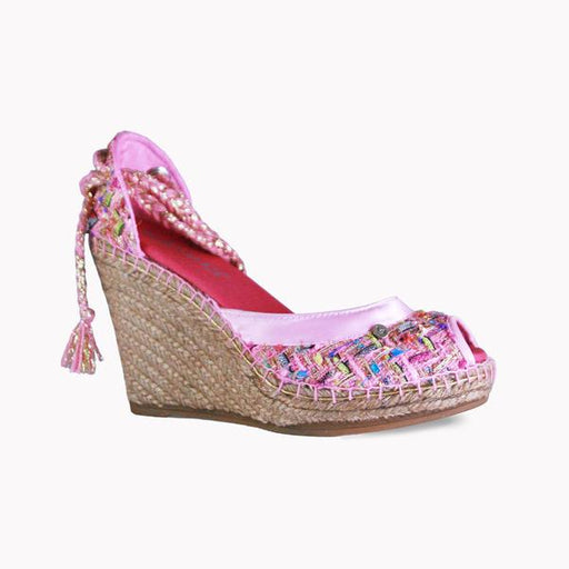 High Wedge Coco Rose