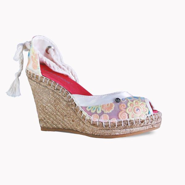 High Wedge Roxy Rose