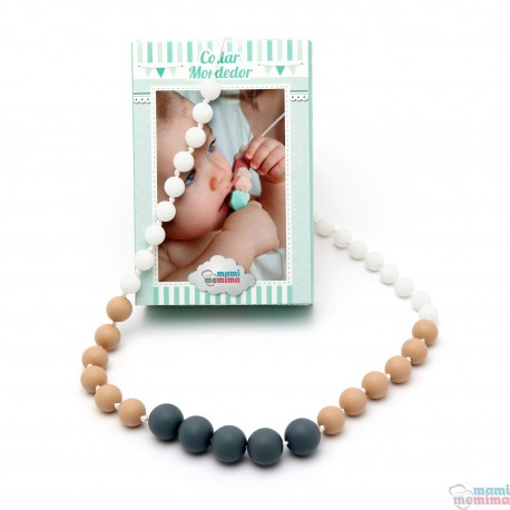 Dafne Model Silicone Teether Breastfeeding Necklace