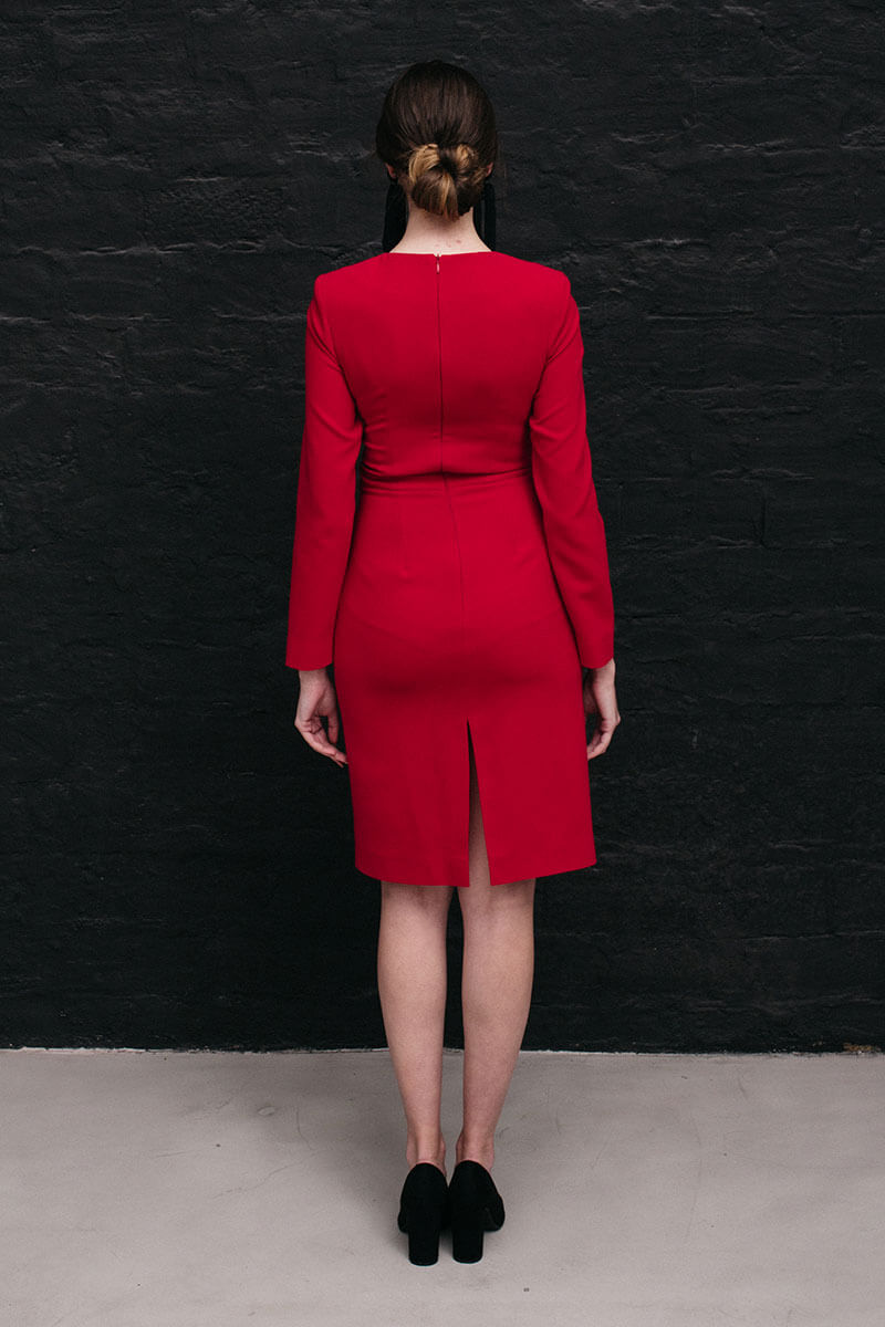 Maisel Poppy Dress