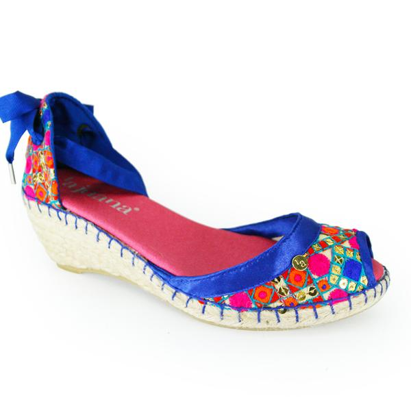 Majorelle Medium Wedges