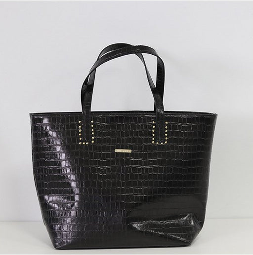 Maxi Shopper Tachas Black