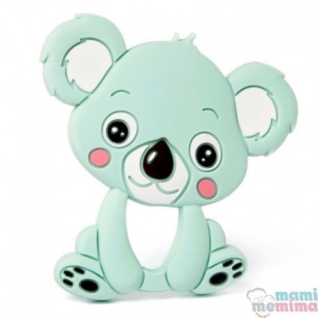 Mint Koala Silicone Teether