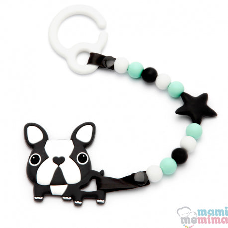 Pack Rebel Baby Teether For Cart With Teether Frenchie Bulldog