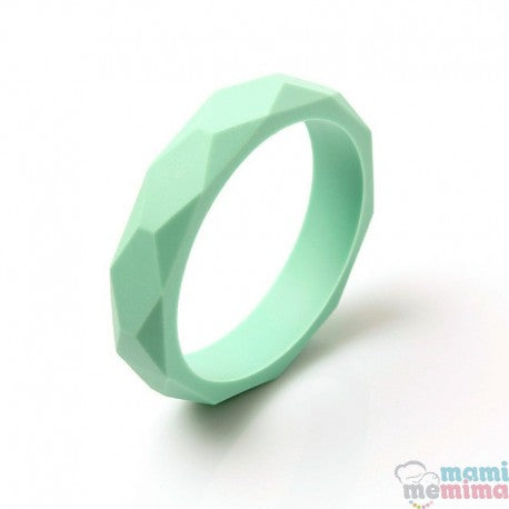Mint Silicone Teether Bracelet
