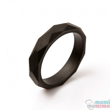 Black Silicone Teether Bracelet