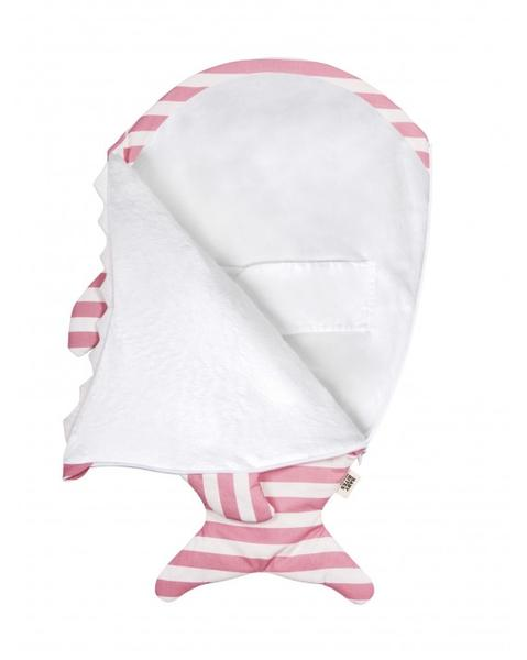 Sleeping Bag for New Borns- Pink Sailor (SUMMER VERSION)
